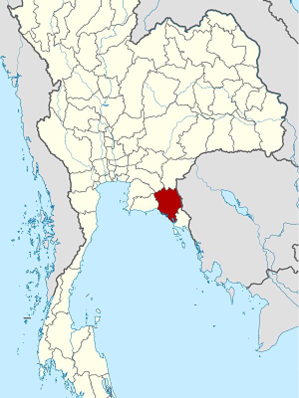 Chanthaburi in Thailand